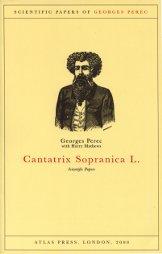 "Capa do livro ""Cantatrix Sopranica L."", edição da inglesa AtlasPress"